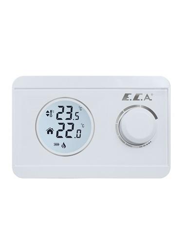 ECA Poly 100 W Kablosuz Dijital Oda Termostatı Renkli